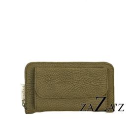 Zaza's Portefeuille met telefoonvakje Green