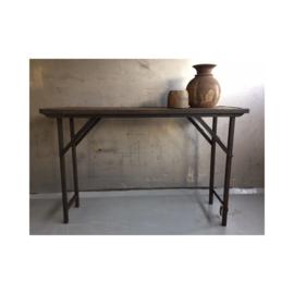 Sidetable Old Wood Iron