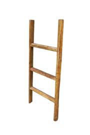 Houten ladder / trapje 110
