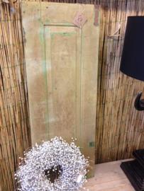 Oude houten luiken Green