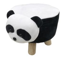 Pluche  kinder poef Panda
