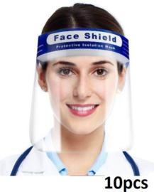 Gezichts masker met hoofdband