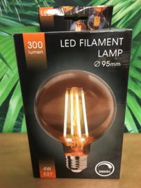 LED lamp Amber dimbaar 95