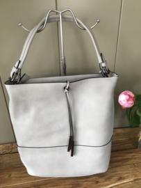 Zaza'Z shopper soft Grey/Grijs