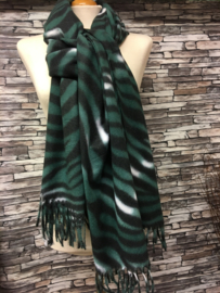 Wintershawls Zebra Green