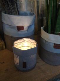 Ibiza Cement plantenpot L BOB