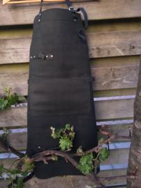 BBQ schort zwart leder