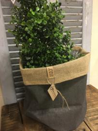 Jute plantenbag 30
