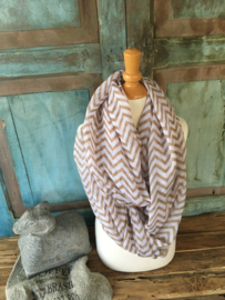 Shawl grafisch Brown