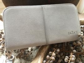 Zaza's portefeuille licht grijs