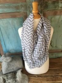 Shawl Grafisch Grey