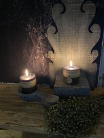 Houten decoratie lepel