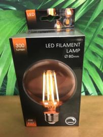 LED lamp dimbaar Amber 80