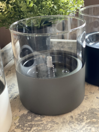 Tenderflame Lilly  Grijs glas 10