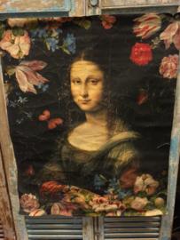 Wanddoek Mona Lisa