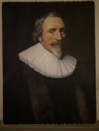 Houten Paneel Portret