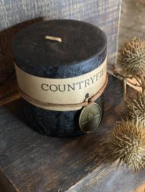Countryfield kaars Black Velvet