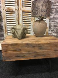 Stoer houten Salontafel / Bank
