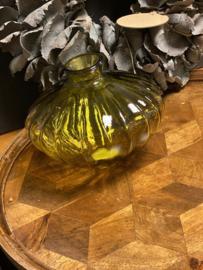 Glazen vaas Yellow /Oker