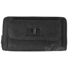 Zaza's Portefeuille met telefoonvakje  Black / Zwart