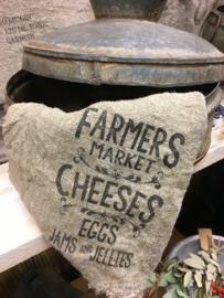 Shabby linnen Farmers Cheese