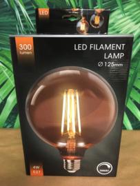 LED lamp Dimbaar G125 Amber