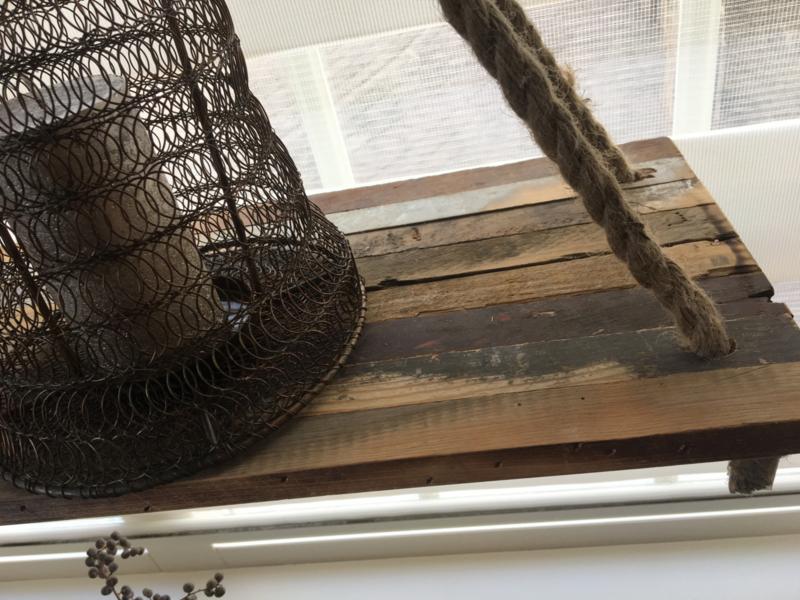 Houten hangplank