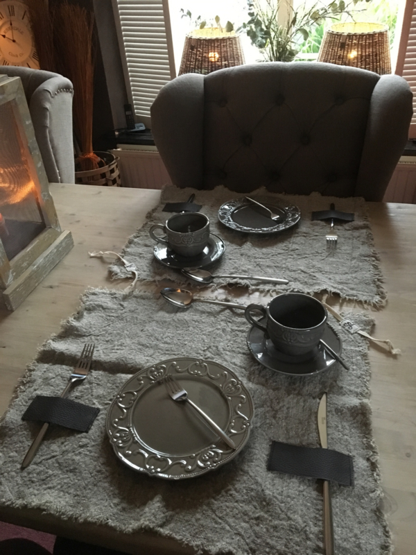 Shabby placemat