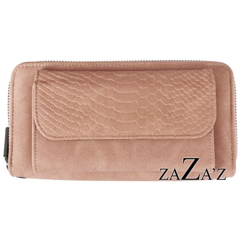 Zaza's Portefeuille met telefoonvakje Pink Roze