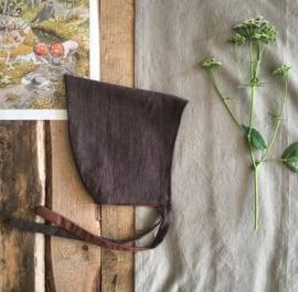 Linen Pixiehat Brown Size 2