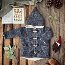 Wool Winter Coat Grey 134/140