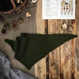 Triangle Scarf Moss Green