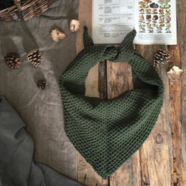 Triangle Scarf Olive