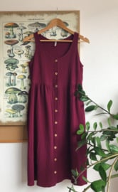 Spring / Summer Dress Double Plum