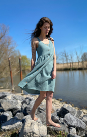 Spring / Summer Dress Double Gauze Mint