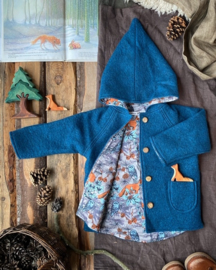 Ocean Blue Fox & Owl 134/140