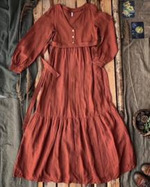 Bohemian Maxi Dress Terracotta