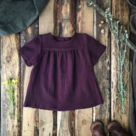 Summer Top Aubergine