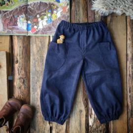 Corduroy Trousers Blue