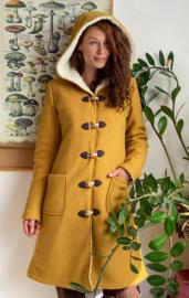Women's Wool Winter Coat Ochre