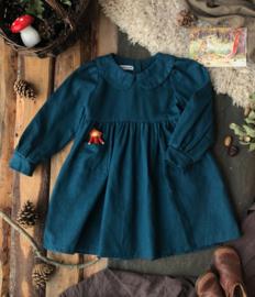Collar Dress Petrol