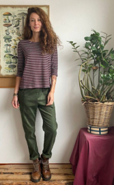 Trousers Corduroy Olive Green