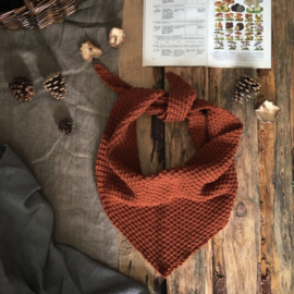 Triangle Scarf Terracotta