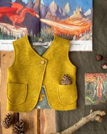 Wool Vest Ochre Michaelmas Size 74/80