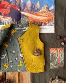 Wool Vest Ochre Michaelmas Size 110/116