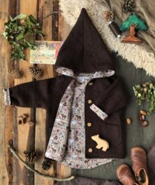 Dark Brown - Forest animals 122/128
