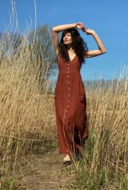 Spring / Summer Dress Linen Maxi