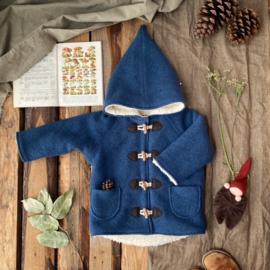 Wool Winter Coat Blue 134/140
