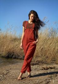 Jumpsuit Linen Terracotta