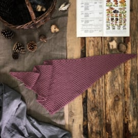 Triangle Scarf Vintage Pink